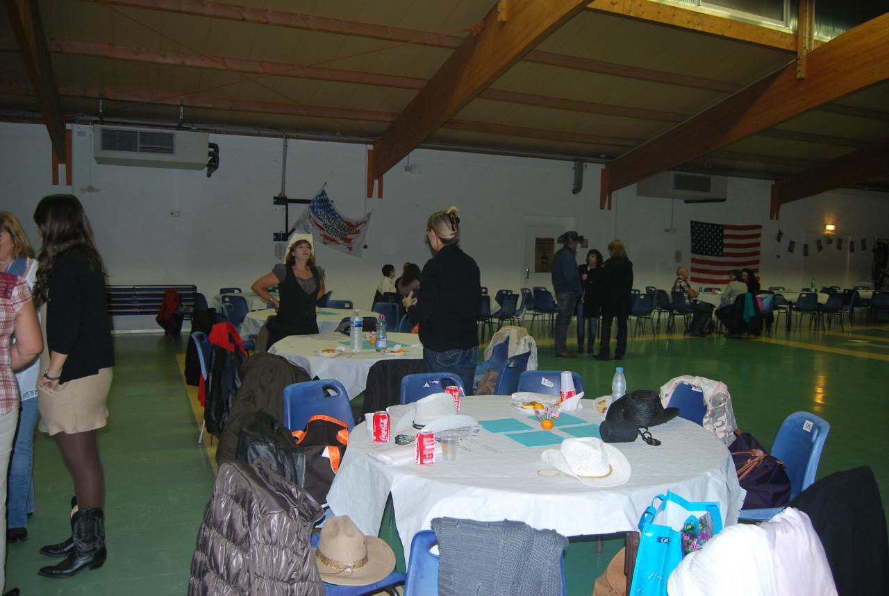 Soirée aux Bosquettes le 10 novembre 2012