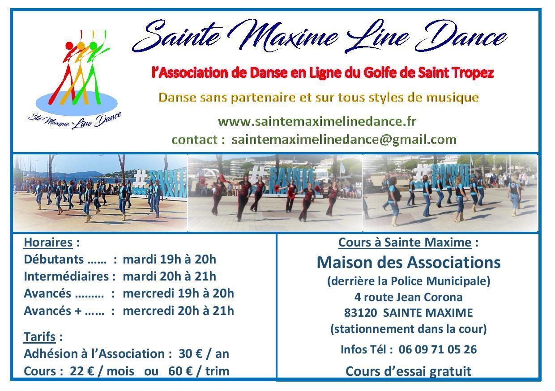 Flyer a5 sept 2021 sainte maxime line dance